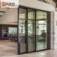 Interior Aluminium Sliding Doors With Glass Inserts For Living Room Manufactures