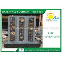 China High Grade Cast Stone Outdoor Fountains With LED Lights / Energy Efficient Water Pump on sale