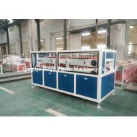 China Decorative PVC Profile Production Line Double Screw Low Power Consumption on sale
