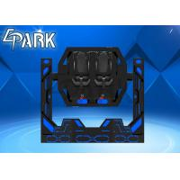 1080 Rotating Spin 9D VR Simulator Chair Roller Coaster 2 Seats Manufactures