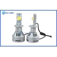 Silver High Lumen 6400lm Cree LED Headlight Bulbs H7 DRL Fog Lamp Bulb Kits for Motorcycle Manufactures