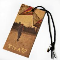 China Recycled Craft Paper Clothing Hang Tags With Cotton String For Cow Boy Jeans on sale