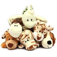 China Freeuni Cartoon Animal Plush School Pencil Case Pen Bag Cosmetic Bags Pen Holder Box on sale