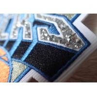 Hotfix Custom Embroidered Patches Rhinestone Motif Iron On Transfer For Hoodies Manufactures