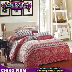 CKKB001-CKKB005 32S Colorful 100% Cotton Brushed Soft Bedding Sets Manufactures