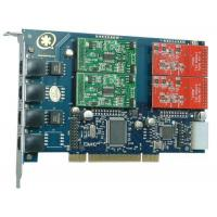 TDM410P with 2FXO&2FXS Asterisk Card for VOIP Call Center Manufactures