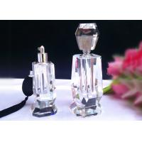 China Custom Logo Home Decorations Crafts , Durable Women Perfume Glass Bottle Crafts on sale
