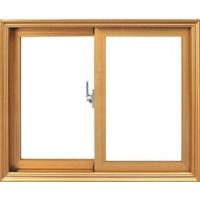 High Energy Wood Grain Aluminum Sliding Window (SW-014) Manufactures