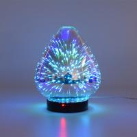 3D Color Glass Electronic Aroma Diffuser Essential Oil Aromatherapy Humidifier Aromatherapy Sprayer Manufactures