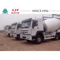 8 M³ Capacity HOWO Concrete Mixer Truck 10 Wheeler For Construction Industrial Manufactures