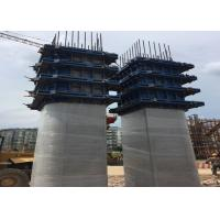 2m - 15m High Precast Steel Column Formwork Bridge Foudation Pillar Structure Manufactures