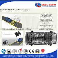 Mobile Image monitoring Under Vehicle Surveillance System , 22 Inch Lcd Monitor Manufactures