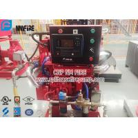 163KW 1500rpm Speed Diesel Engine For Fire Fighting Pump , NFPA20 Standard Manufactures