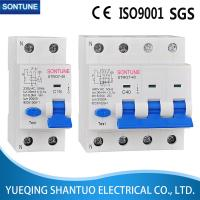 STRO7-40 Residual Current Circuit Breaker With Overcurrent Protection , 2 Pole RCBO 30ma Manufactures