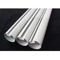 Aluminum Round Tube Kitchen Ceiling Tiles Suspended Metal , 75mm Dia