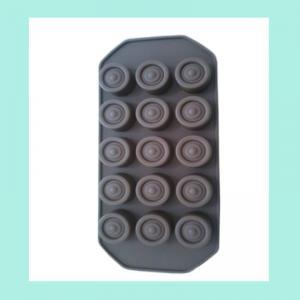 FDA ,LFGB silicone jello molds ,round shape silicone chocolate mold Manufactures