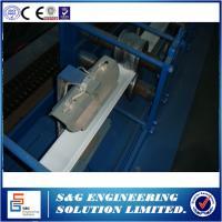 Automatic Rolling Shutter Strip Forming Machine 20 - 350mm Feeding Width Manufactures