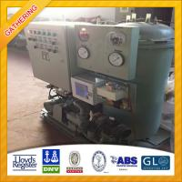 IMO Standard 0.5m3/h Oil Water Separator for Sale Manufactures