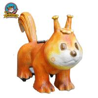 China Mechanical Walking Animal Ride Dinosaur Toys Appearance Customized Speed on sale
