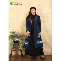 100% Cotton Chinese Embroidered Winter Coats Traditional China National Costume Manufactures
