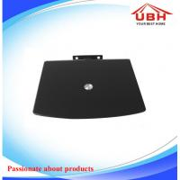 One Layer DVD Shelf /DVD Mount /Tempered Glass ,Black or Clear and so on   Glass size 260*220*5 mm