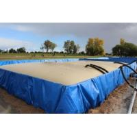 Flexible PVC Inflatable Pool For Fish , Shrimp Collapsible Water Tank Manufactures