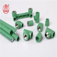 China Hydraulic Plastic PPR Pipe Fitting Excellent Performance Weather Resistant on sale