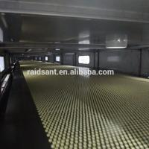 17.5kw Hot Melt Granulation Pastillator Stainless Steel Nippon Steel Belt Manufactures