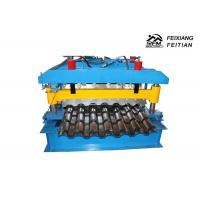 China Galvanized Metal Aluminum Roll Forming Machines , Automatic Roll Forming Machines on sale