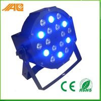 Indoor Dmx Event DJ LED Bar Lights , Rgb Led Flat Par Light Intelligent Manufactures
