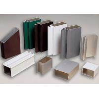 Powder Coating Extruded Aluminum Profiles 6060 6061 Curtain Wall Profile Manufactures