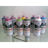 Non toxic Eco-friendly Artist Aerosol Spray Paint for Wood / Plastic / Metal Surface Manufactures