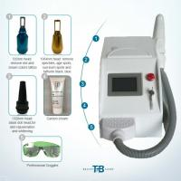 China Long Pulsed Q Switch Nd Yag Laser Tattoo Removal Machine 3 Treatment Heads on sale