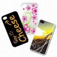 Hard Skin Cases for iPhone 4/4S, Customized Patterns are Welcome Manufactures