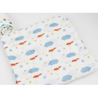 Comfortable Comed Cotton Baby Swim Towel Printed Two Layers Long Life Time Manufactures