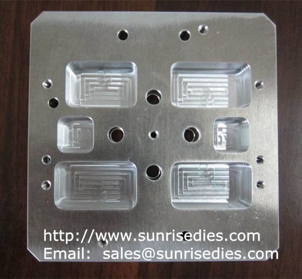 CNC milling aluminum hot press dies
