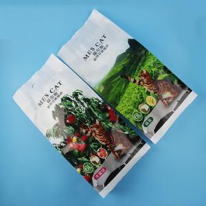 10 Colors Customized Printing Pet Food Packaging Bag 5kg 15kg / sustainable food packaging Manufactures