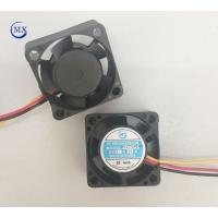 China 12 Volt Dc Motor Industrial Cooling Fans 25mm * 10mm Extractor Type Black Color on sale