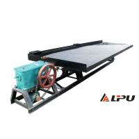 China Fine Sand Table Surface Vibration Shaker Table for Gold Mine Gravity Separation on sale