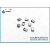 China 100% Raw Materials Hard Alloy Carbide Saw Tips Silver Gray For Wood Cutting on sale