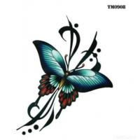 Butterfly Temporary Tattoos Sticker/temporary Tattoo Sticker Manufactures