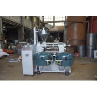 RF130-A Screw Press Oil Expeller , Coconut Oil Expeller Machine With Air Pressure Filter Manufactures