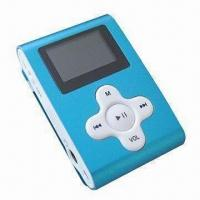 China MP3 Player with Clip, FM Radio, Recorder and OLED Display, Can be Used as Promotional Gift on sale