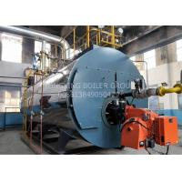Gas And Oil Dual Fuel Steam Boiler 0.7MW Hot Water Boiler Furnace Stainless Steel Manufactures
