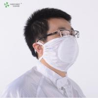Unisex Food Processing Accessories , Surgical Dust Free 3d Face Mask Manufactures