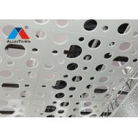 Corrosion Protection Perforated Aluminum Ceiling 600x600 For Vessel / Aluminum Gusset Ceiling Manufactures