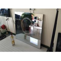 Rectangle Backlit Bath Mirror Tv , Mirror Finish Tv With Muliti Language Manufactures