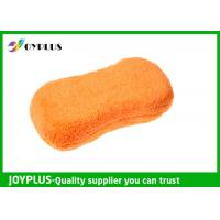 Super Absorbent Car Wash Tools Car Cleaning Mitt Microfiber / Sponge Material Manufactures