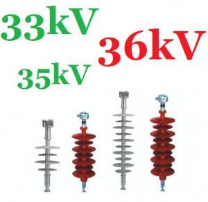 63kV / 66kV Silicone Rubber Insulator / Tension Insulator With ECR Core Rod Manufactures