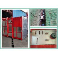 Heavy Duty 2 Tons Construction Site Elevator Equipment Goods Hoist 0-34m/Min Speed Manufactures